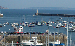 Harbour at St. Peter Port, Guernsey