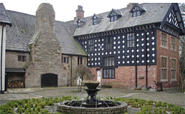 Samlesbury Hall, near Preston (UK)