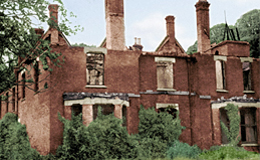 Borley Rectory sometime before demolition (1939-1944)