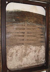 Harvard House Stratford-upon-Avon: earlier construction materials
