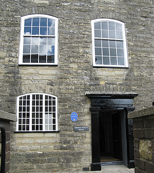 The original Axminster carpet factory
