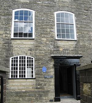 The original Axminster carpet factory