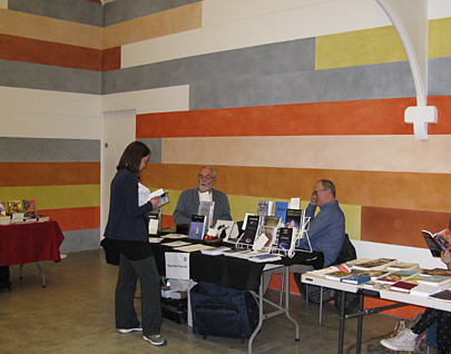 The Black Pear Press at the Birmingham Independent Book Fair, at the Ikon Gallery