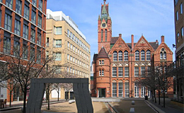 Oozells Square and the Ikon Gallery