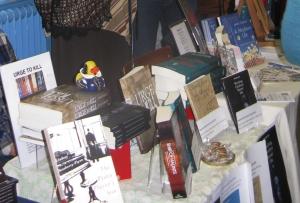 Books at the Indie Author Fair