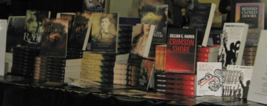 Books at the Indie Author Fair