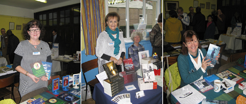 Indie Authors at the Indie Author Fair, Chorleywood Nov. 2014