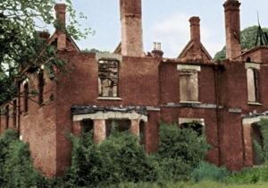 Borley Rectory after the fire