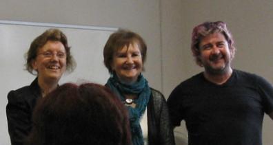 Heather Wastie, Lindsay Stanberry-Flynn & Fergus McGonigal