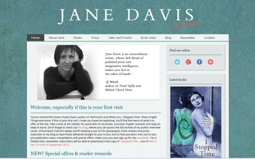 Author Jane Davis Blog